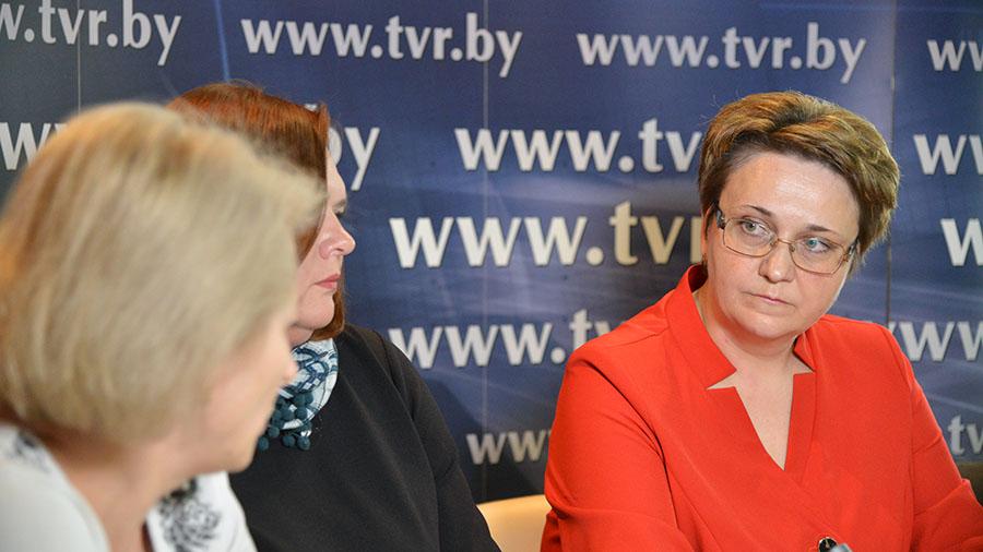Светлана Уклейко, начальник Главного управления общего среднего, дошкольного и специального образования Министерства образования