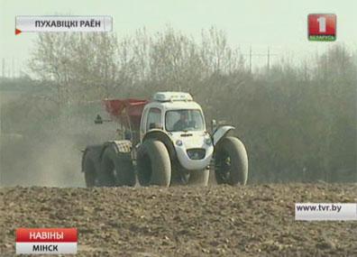 Аграрии Минской области начали сев яровых Аграрыі Мінскай вобласці пачалі сяўбу ярыны