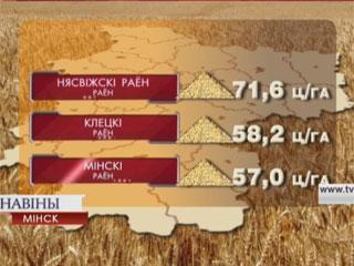 В этом году каравай Минской области будет весомый Cёлетні каравай Мінскай вобласці будзе важкі