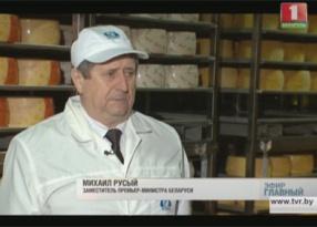 Интервью с вице-премьером Михаилом Русым Інтэрв'ю з віцэ-прэм'ерам Міхаілам Русым