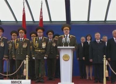 Беларусь отпраздновала День Независимости  Беларусь адсвяткавала Дзень Незалежнасці  Belarus observes Independence Day on July 3