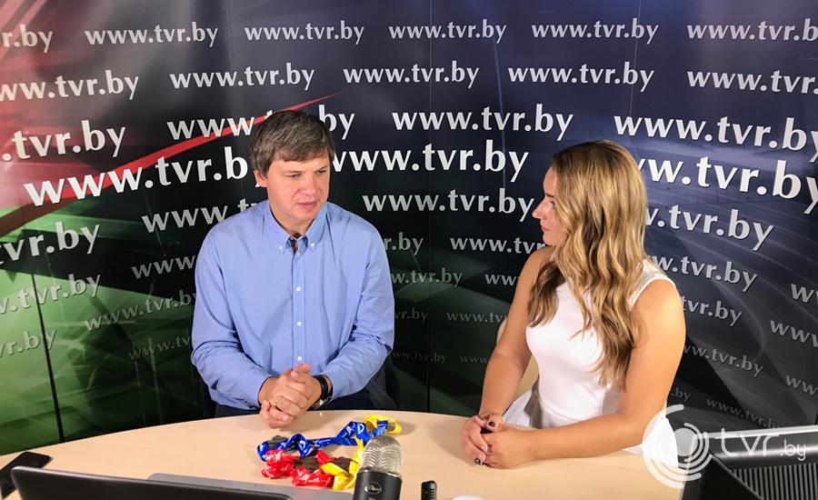 Председатель Белорусской федерации легкой атлетики Вадим Девятовский