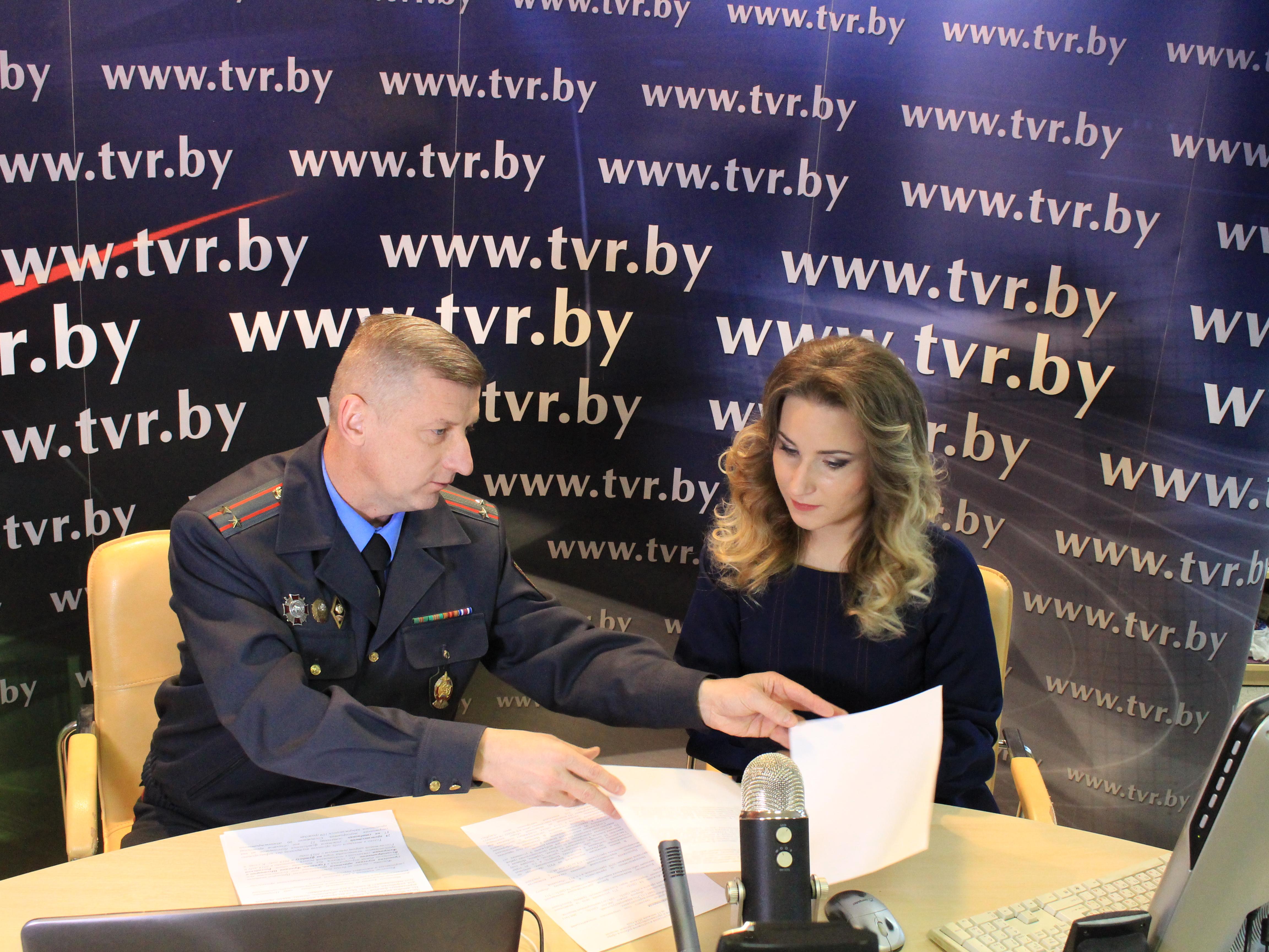 Онлайн-конференция с официальным представителем МВД Георгием Евчаром