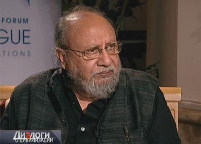 Ашис Нанди - философ, социолог, председатель комитета культурного выбора и глобального будущего (Индия)