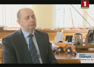 Интервью с министром промышленности Виталием Вовком Інтэрв'ю з міністрам прамысловасці Віталем Воўкам