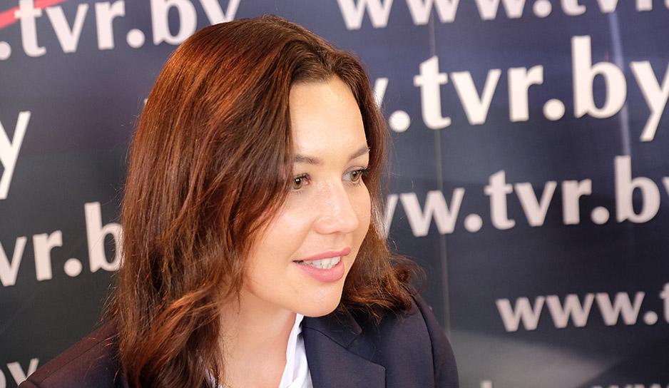 Начальник отдела информации Национального олимпийского комитета Беларуси Виктория Меннанова