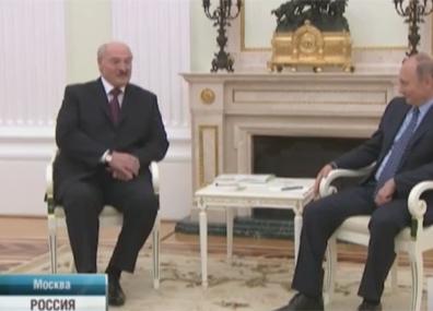 Александр Лукашенко с рабочим визитом посетил Москву Аляксандр Лукашэнка з  рабочым візітам наведаў Маскву Alexander Lukashenko pays working visit to Moscow
