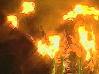 Под Минском стартовал международный фестиваль огня Пад Мінскам стартаваў міжнародны фестываль агню