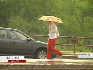 Жару сменили дожди и грозы Спякоту змянілі дажджы і навальніцы