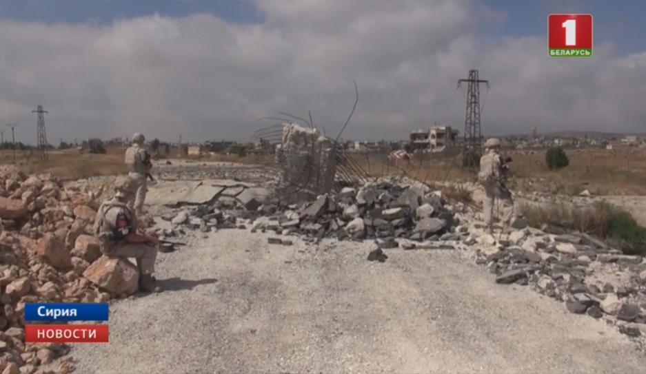 Вашингтон разворачивает систему противоракетной обороны на севере Сирии