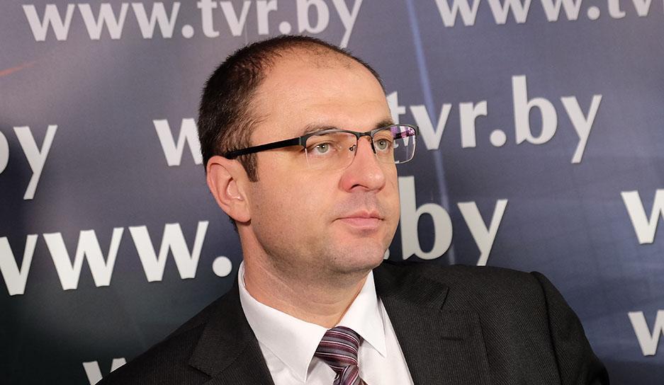 Сергей Масляк - председатель Минского городского комитета природных ресурсов и охраны окружающей среды