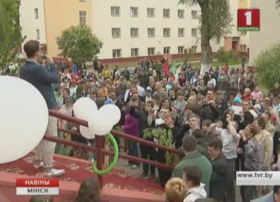 Благотворительный концерт прошел в Минске Дабрачынны канцэрт прайшоў у Мінску
