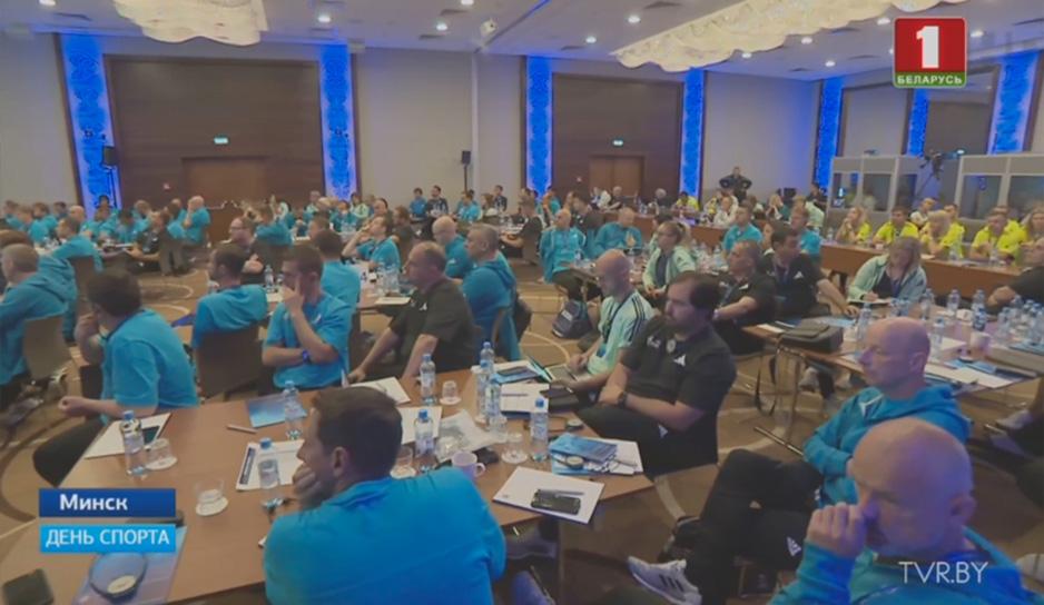 Минск принимает крупную конференцию УЕФА по массовому футболу
