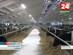 В Ветковском районе сегодня появился новый животноводческий комплекс У Веткаўскім раёне сёння з'явіўся новы жывёлагадоўчы комплекс