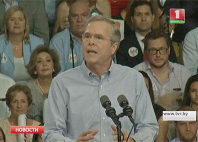 Экс-губернатор Флориды Джеб Буш объявил о планах баллотироваться на пост президента США  Экс-губернатар Фларыды Джэб Буш аб'явіў аб планах балаціравацца на пасаду прэзідэнта ЗША