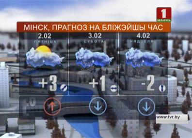 Погода на 2 февраля Надвор'е на 2 лютага
