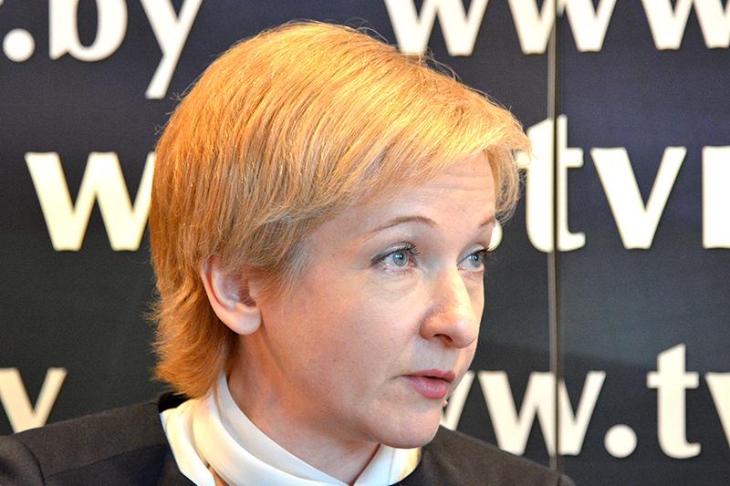 Председатель Федарации профсоюзов Елена Манкевич