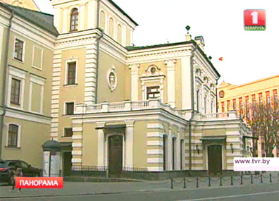 """Чайка"" Чехова по-белорусски ""Чайка"" Чэхава па-беларуску Classical oeuvre of  Chekhov ""Seagull"" staged in Belarusian"