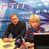 Онлайн-конференция с писательницей Ольгой Тарасевич и продюсером Глебом Шприговым