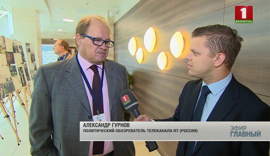 Интервью с Александром Гурновым, известным российским журналистом и телеведущим  Інтэрв'ю з вядомым расійскім журналістам, тэлевядучым Аляксандрам Гурновым