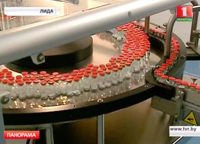 Новое предприятие по выпуску лекарств в Лиде  Новае прадпрыемства па выпуску лекаў у Лідзе