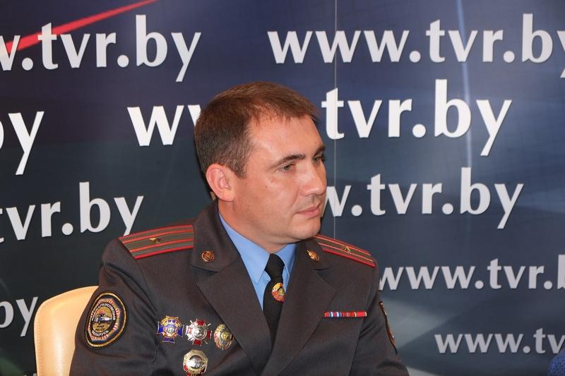 Онлайн-конференция с начальником отдела агитации и пропаганды ГАИ ГУВД Мингорисполкома Сергеем Зараником