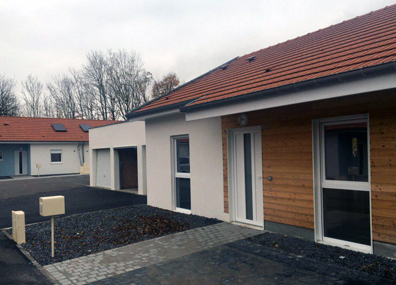 Квартал белорусских деревянных домов появится во Франции