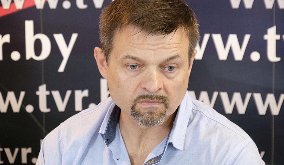 Спортивный журналист Сергей Щурко