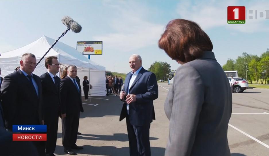 Александр Лукашенко протестировал Минскую кольцевую. Цель Президента - увидеть состояние инфраструктуры и соблюдение порядка Аляксандр Лукашэнка пратэсціраваў Мінскую кальцавую. Мэта Прэзідэнта - убачыць стан інфраструктуры і выконванне парадку Alexander Lukashenko tests Minsk Ring Road and checks state of infrastructure