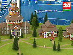 Выставочный центр БелЭкспо проводит специализированную строительную выставку Выставачны цэнтр БелЭкспа праводзіць спецыялізаваную будаўнічую выставу Building and construction trade fair held at exhibition center BelExpo