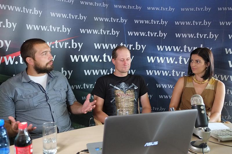 Онлайн-конференция с  Александром Раком и Евгением Апанасевичем