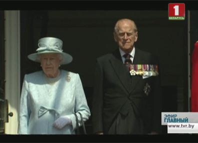 Британцы отметили день рождения королевы Брытанцы адзначылі дзень нараджэння каралевы