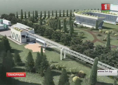 В Марьиной Горке завершается строительство новой транспортной системы  У Мар'інай Горцы завяршаецца будаўніцтва новай транспартнай сістэмы
