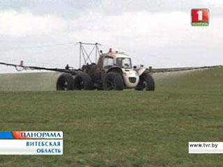На белорусских полях продолжается посевная На беларускіх палях працягваецца пасяўная