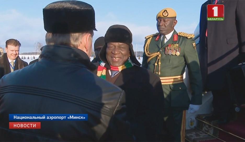 Переговоры на высшем уровне и насыщенная деловая программа. В Минск прибыл Президент Зимбабве Перамовы на вышэйшым узроўні і насычаная дзелавая праграма. У Мінск прыбыў Прэзідэнт Зімбабвэ