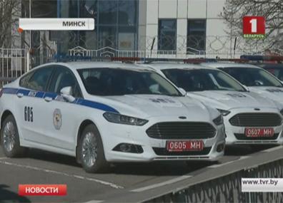 ГАИ Минска обнародовала видео ночной погони ДАІ Мінска апублікавала відэа пагоні