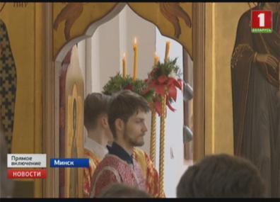В храмах продолжаются божественные литургии У храмах працягваюцца боскія літургіі