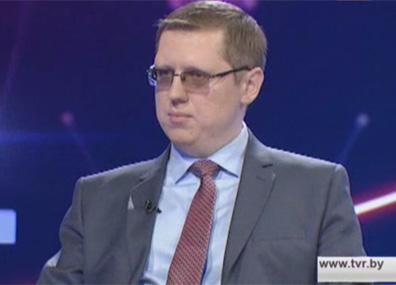 Первый заместитель министра экономики Александр Заборовский