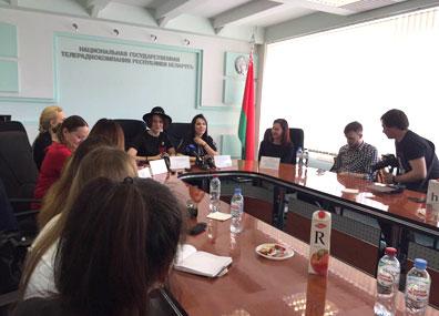 В Белтелерадиокомпании проходит пресс-конференция NaviBand
