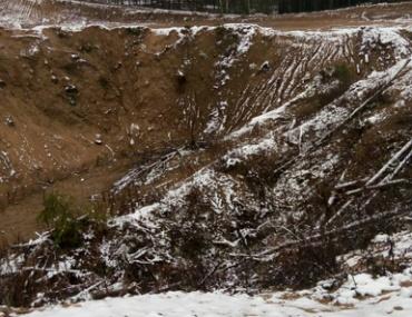 В Вилейском районе добыча песка оказалась важнее археологических объектов