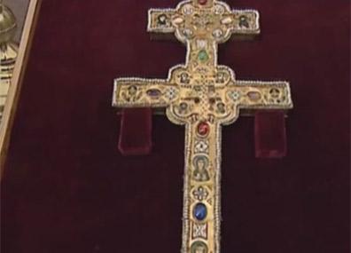 Крест и рака cвятой Ефросиньи Полоцкой