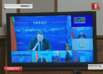На заседании президиума Совмина рассмотрели итоги социально-экономического развития за январь На пасяджэнні прэзідыума Саўміна разглядалі вынікі сацыяльна-эканамічнага развіцця за студзень  Presidium of Council of Ministers announces measures to achieve Belarus' average salary target of 500 dollars