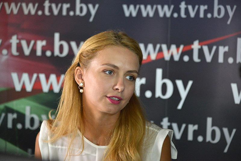 Онлайн-конференция с белорусской моделью Ольгой Хижинковой