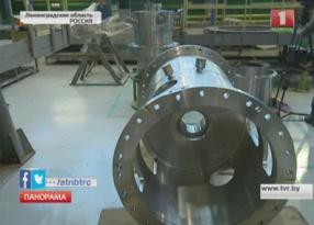 Сердце первого энергоблока в пути на Белорусскую АЭС Сэрца першага энергаблока накіроўваецца  на Беларускую АЭС