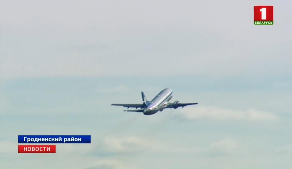 Из Гродненского аэропорта вылетел первый самолет в Хургаду З Гродзенскага аэрапорта вылецеў першы самалёт у Хургаду