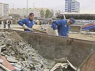 Акция по строительству комплекса Чижовка-Арена Акцыя па будаўніцтве комплекса Чыжоўка-Арэна
