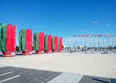 Белтелерадиокомпания развернет патриотическую акцию на площади Государственного флага  Белтэлерадыёкампанія разгорне патрыятычную акцыю на плошчы Дзяржаўнага флага