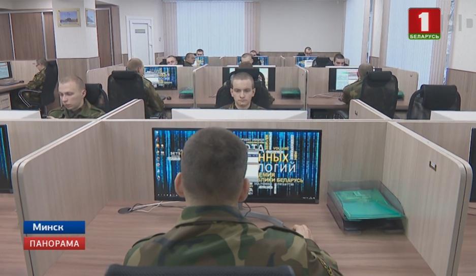 Белорусская IT-рота получила свое оружие - современные компьютеры Беларуская IT-рота атрымала сваю зброю - сучасныя камп'ютары