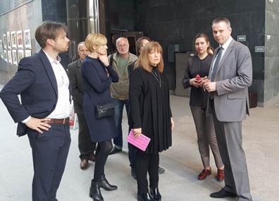 В Беларусь с визитом прибыла генеральный директор Имперского военного музея Великобритании