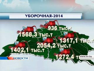 Белорусские аграрии ставят новые рекорды Беларускія аграрыі ставяць новыя рэкорды